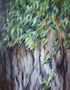 Arbre Tronc / Tree Bark Wild Garden sophie labayle art nature paintings
