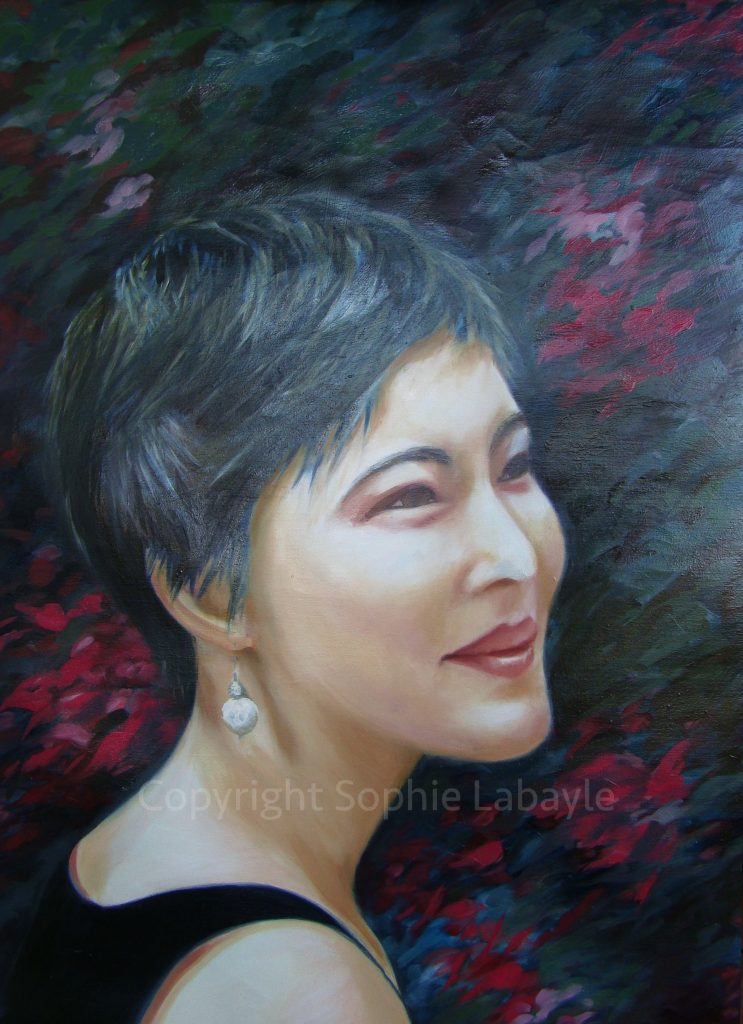 Portrait Artist Sophie Labayle