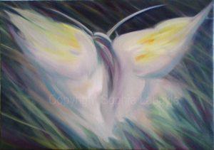 Sophie Labayle Papillon de nuit / Ghost butterfly