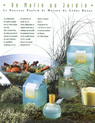 Sophie Labayle Parfum Un Matin au Jardin