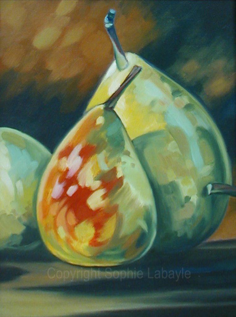 Sophie Labayle Poires du jardin / Pears