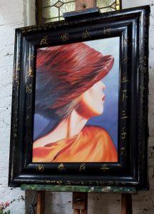 Art Oil painting portrait French artist Sophie Labayle