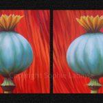 Poppies King Poppy Quenn Poppy Sophie Labayle Art