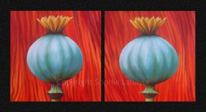 Poppies King Poppy Quenn Poppy Sophie Labayle Art