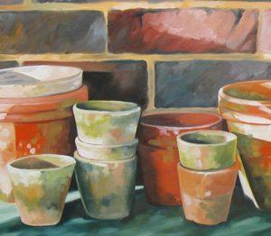 Sophie Labayle Pots Horticoles / Potting bench