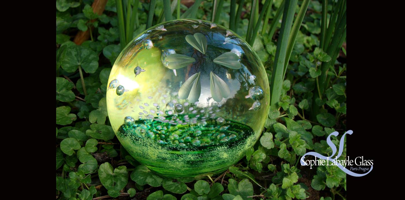 Boule Sphere Verre Glass Sophie Labayle Spring