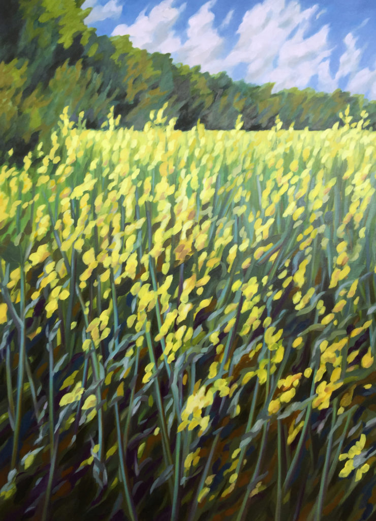 Sophie Labayle Artist Painting nature
