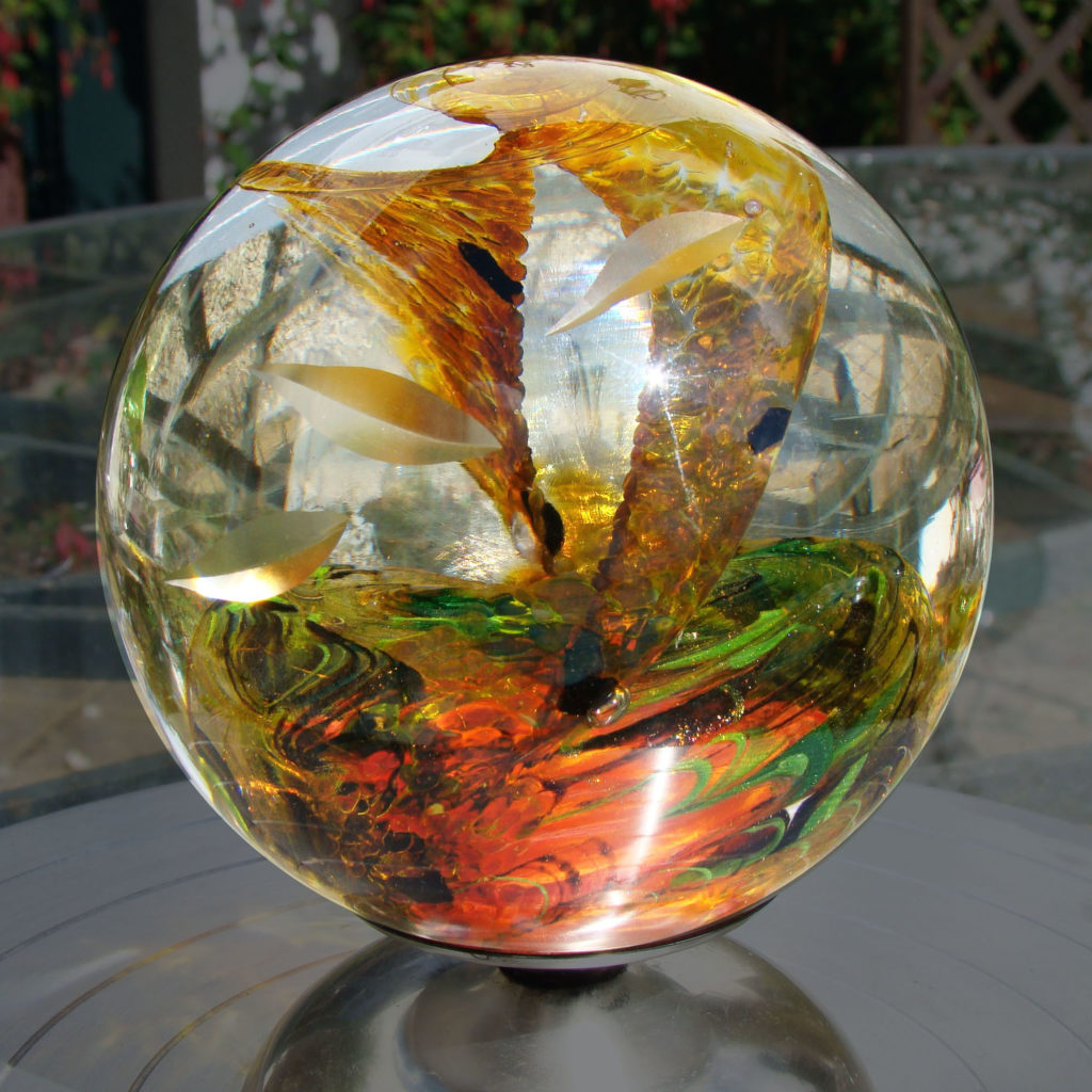 Autumn Sophie Labayle Glass Sphere