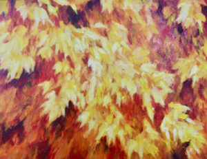 Fall sophie labayle art nature paintings