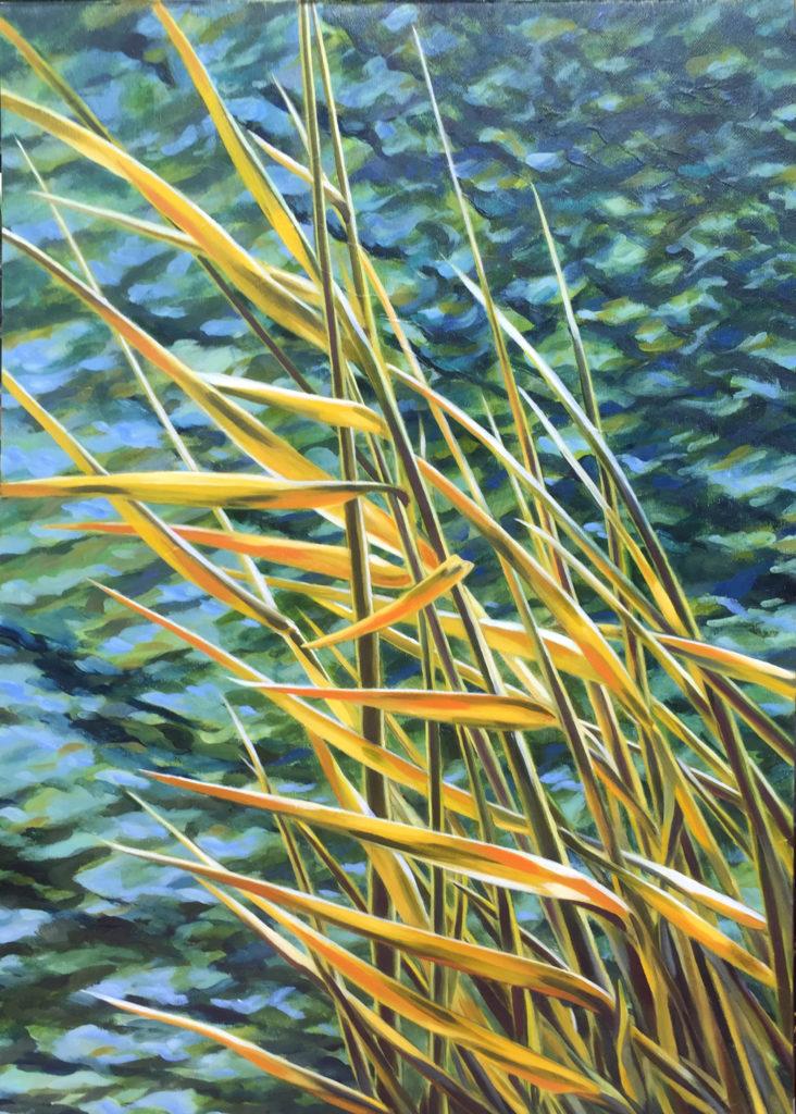 River Rivière sophie labayle art nature paintings